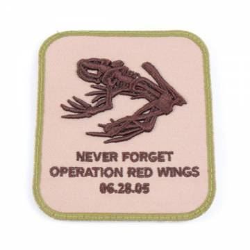 King Arms RWO Memorial Embroidery Patch - Tan