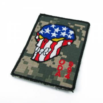 King Arms ODA 994 Embroidery Patch - ACU