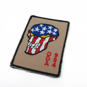 King Arms ODA 994 Embroidery Patch - Tan