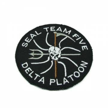 King Arms Seal Team 5 Delta Platoon Embroidery Patch