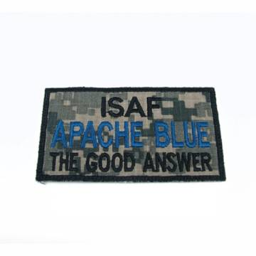 King Arms ISAF Apache Blue Embroidery Patch - ACU