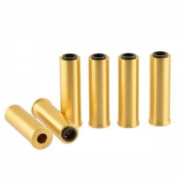 HFC Revolver 6mm Metal Shells - 6 pcs