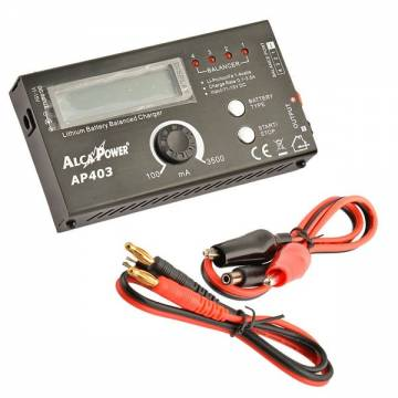 AlcaPower Digital Charger for Li-ion / LiPo / LiFe