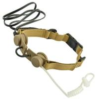 Z Tactical Throat Mic Headset (DE)