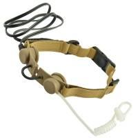 Z Tactical Throat Mic Headset (DE)