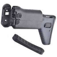 D-BOYS SCAR Side Folding Retractable Stock - Black