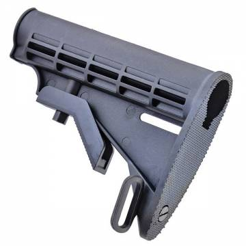 D-Boys 6 Position Sliding Stock for M4 Series - Black