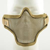 TMC Strike Steel Half Face Mask - Coyote Tan