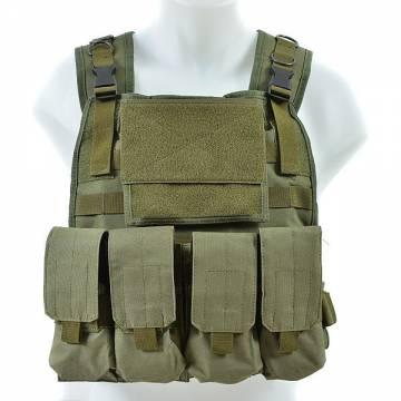 King Arms MPS SAPI Vest MK I - Full Set - Olive Drab