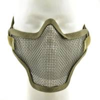 TMC Strike Steel Half Face Mask - Olive Drab