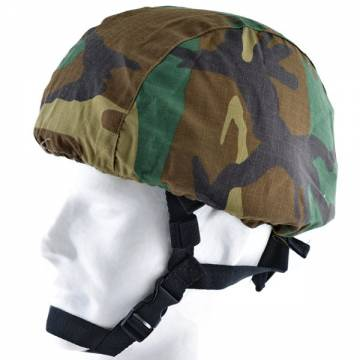 MICH / ACH Helmet Cover - Woodland
