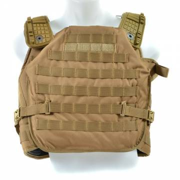 Tactical Chasis Armor Carrier - Coyote Brown