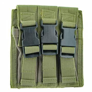 King Arms Triple Magazine Pouch - OD