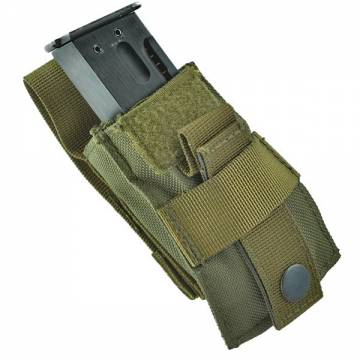 King Arms MPS QR Pistol Mag Pouch - Olive Drab
