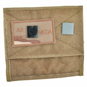 King Arms MPS Map Pouch - TAN - Blood Type AB