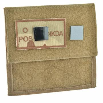 King Arms MPS Map Pouch - TAN - Blood Type O