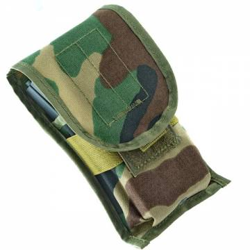 King Arms MPS SIG M4 Mag Pouch - Woodland