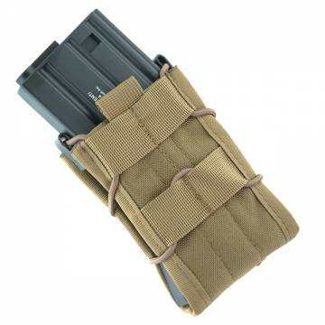 TACO Modular Single Rifle Magazine Pouch - Coyote Brown
