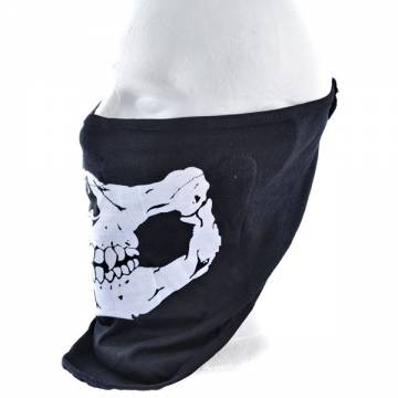 King Arms SF Face Protection Towel - Black