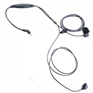 Ear Bone Microphone w/ Waterproof PTT - TETRA MTH 800