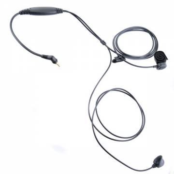 Ear Bone Microphone w/ Waterproof PTT - TETRA MTH 800