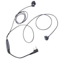 Ear Bone Microphone w/ Waterproof PTT - Kenwood