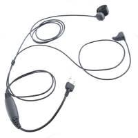 Ear Bone Microphone w/ Waterproof PTT - Midland