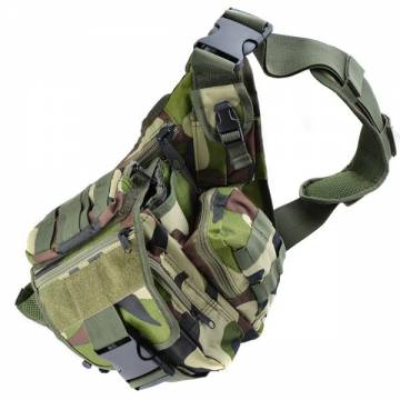 Swiss Arms Saddle Bag (Woodland Camo)