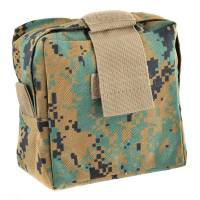 King Arms Molle Tactical Medic Pouch (Marpat Forest)