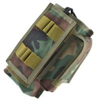 King Arms MPS RC-148 Radio Pouch - Woodland