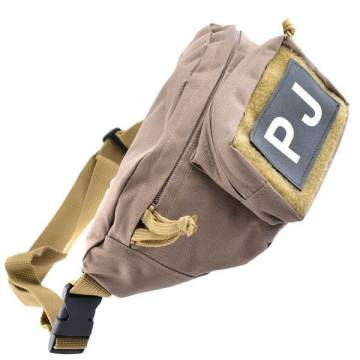 King Arms Fanny Pack w/ PJ Patch - TAN