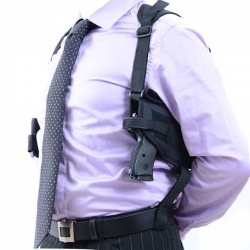 Horizontal Shoulder Holster - Black