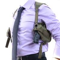Shoulder Pistol Holster - Olive Drab