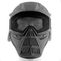 Tactical Mask with Net - Black