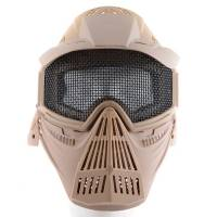Tactical Mask with Net - Tan