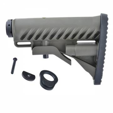 King Arms M4 Tactical Stock - OD with Pipe