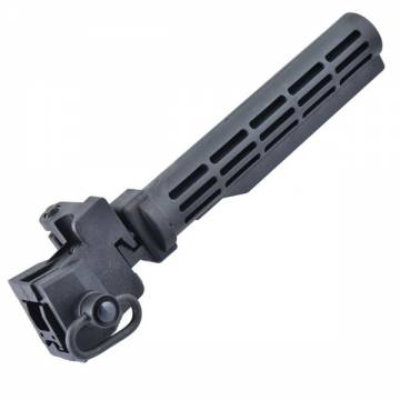 King Arms AK Tactical Folding Stock - BK