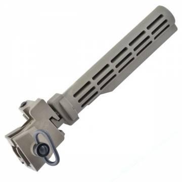 King Arms AK Tactical Folding Stock - DE