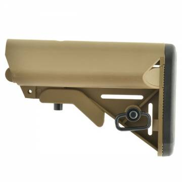 APS Crane Stock for M4 / M16 - Dark Earth