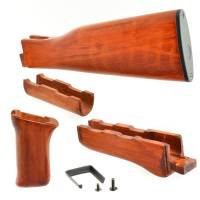 APS AK 47 Handguard & Stock Real Wood Kit