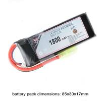 AB Battery Li-Po - 7,4V 1800mAh - 30C