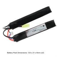 AB Battery Li-Po - 7,4V 1300mAh - 15C