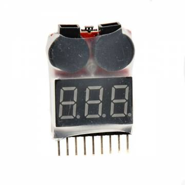 AB Tester Beeper for Li-Po / Li-Fe / Li-Ion
