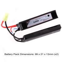 AB Battery Li-Po - 7,4V 2200mAh - 20C