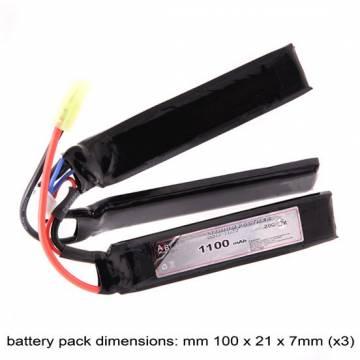 AB Battery Li-Po - 11,1V 1100mAh - 20C
