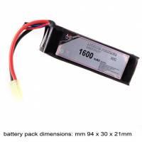 AB Battery Li-Po - 11,1V 1600mAh - 30C