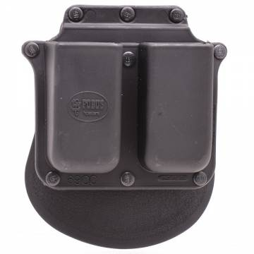 Fobus Double Mag Paddle Pouch - Glock & SIG 9mm