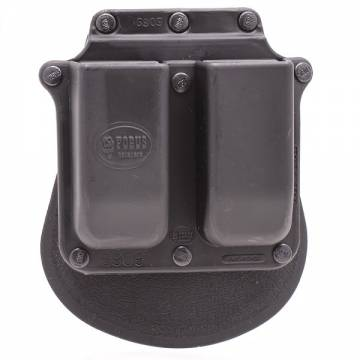 Fobus Double Mag Paddle Pouch - Double Stack 9mm