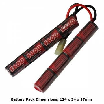 AB Battery 9,6V 1600mAh - Crane