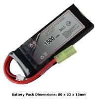 AB Battery Li-Po - 7,4V 1500mAh - 20C